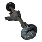 Drive axle with diff